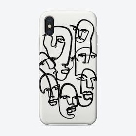 Face Merge 2 Phone Case