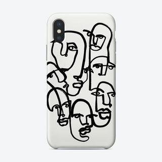 Face Merge 2 Phone Case
