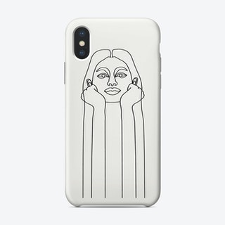 Curious Girl Phone Case