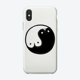 Boob Yin Yang Phone Case