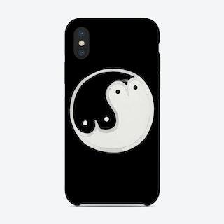 Boob Yin Yang Bw Phone Case