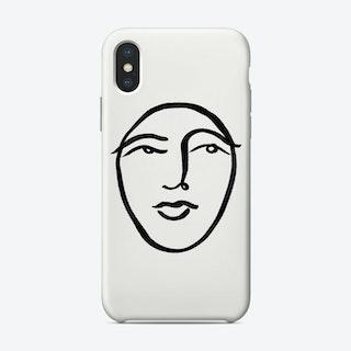 Faces 31 Phone Case