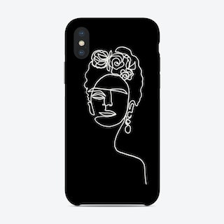 Frida Kahlo Bw Phone Case