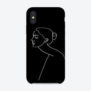 Alone Bw Phone Case