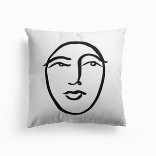 Faces 31 Cushion