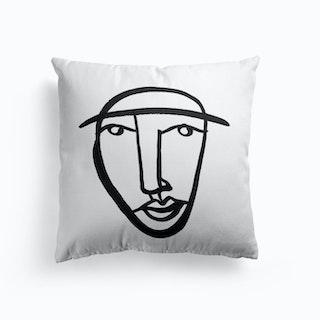 Faces 8 Cushion