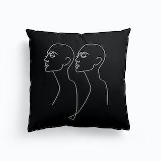 Backing Bw Cushion