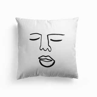 Blind Drawing 2 Cushion