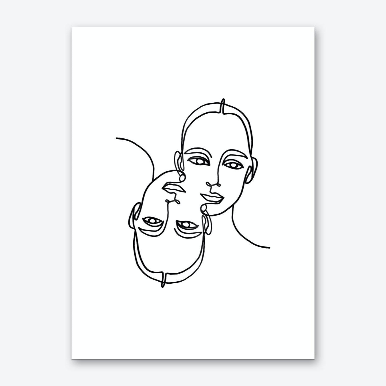 Melted Art Print