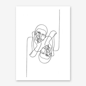 Karl Reversed Art Print