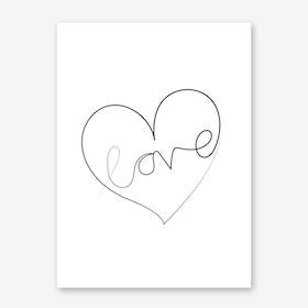 Love Lines Art Print