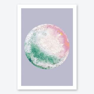 Ganymede Lilac Art Print