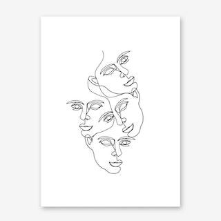 Mono 2 Art Print
