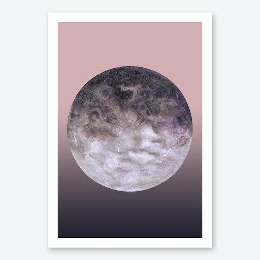 Quaoar Lilac Gradient Print