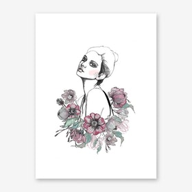 Addylin Art Print