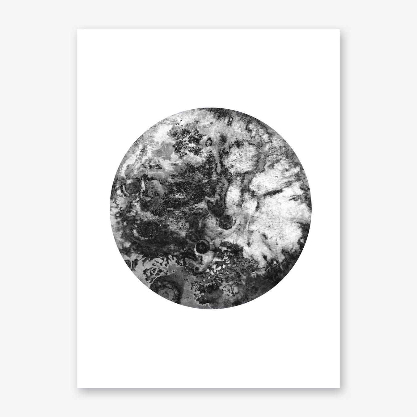 Black Moon Print