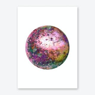 Rainbow Pow Pow Art Print