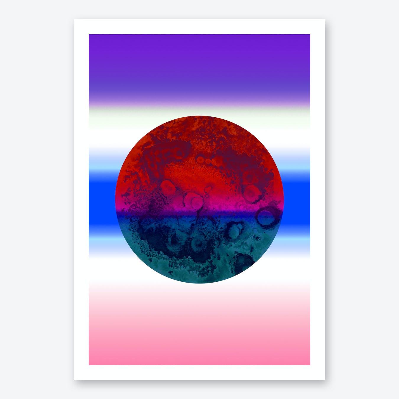 Bright Pastel Art Print