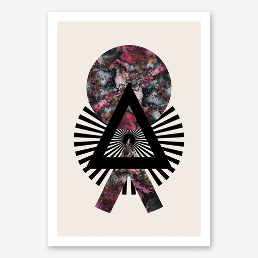Orcus Geometric Art Print