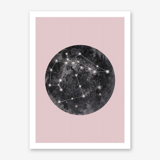 Constellation Pink Art Print