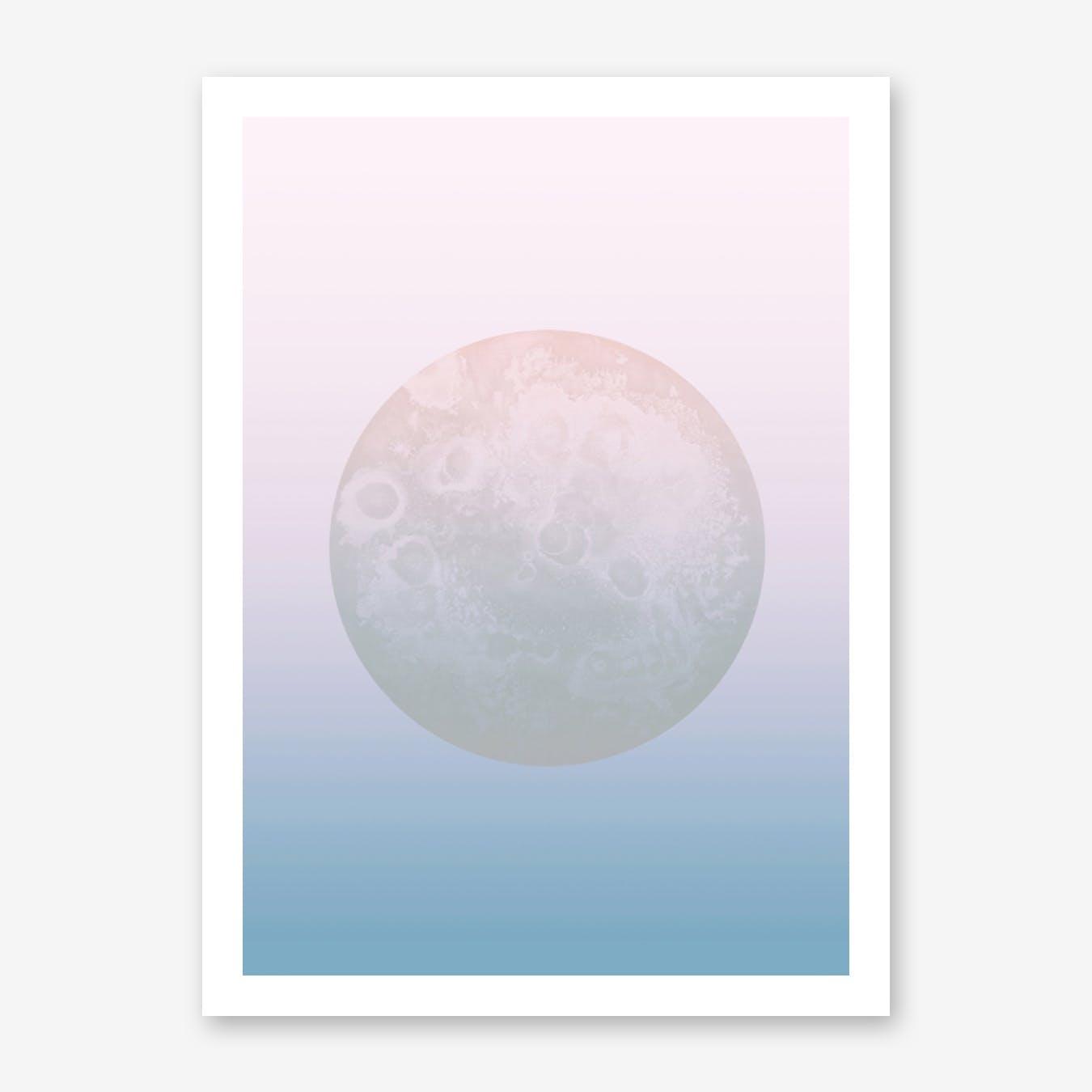 Light Pastel Moon