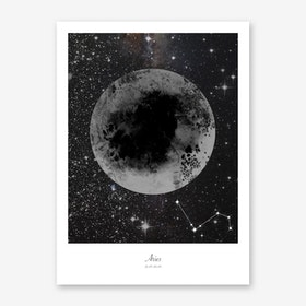 Aries Horoscope Art Print