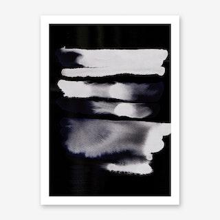 BlackBlue Art Print