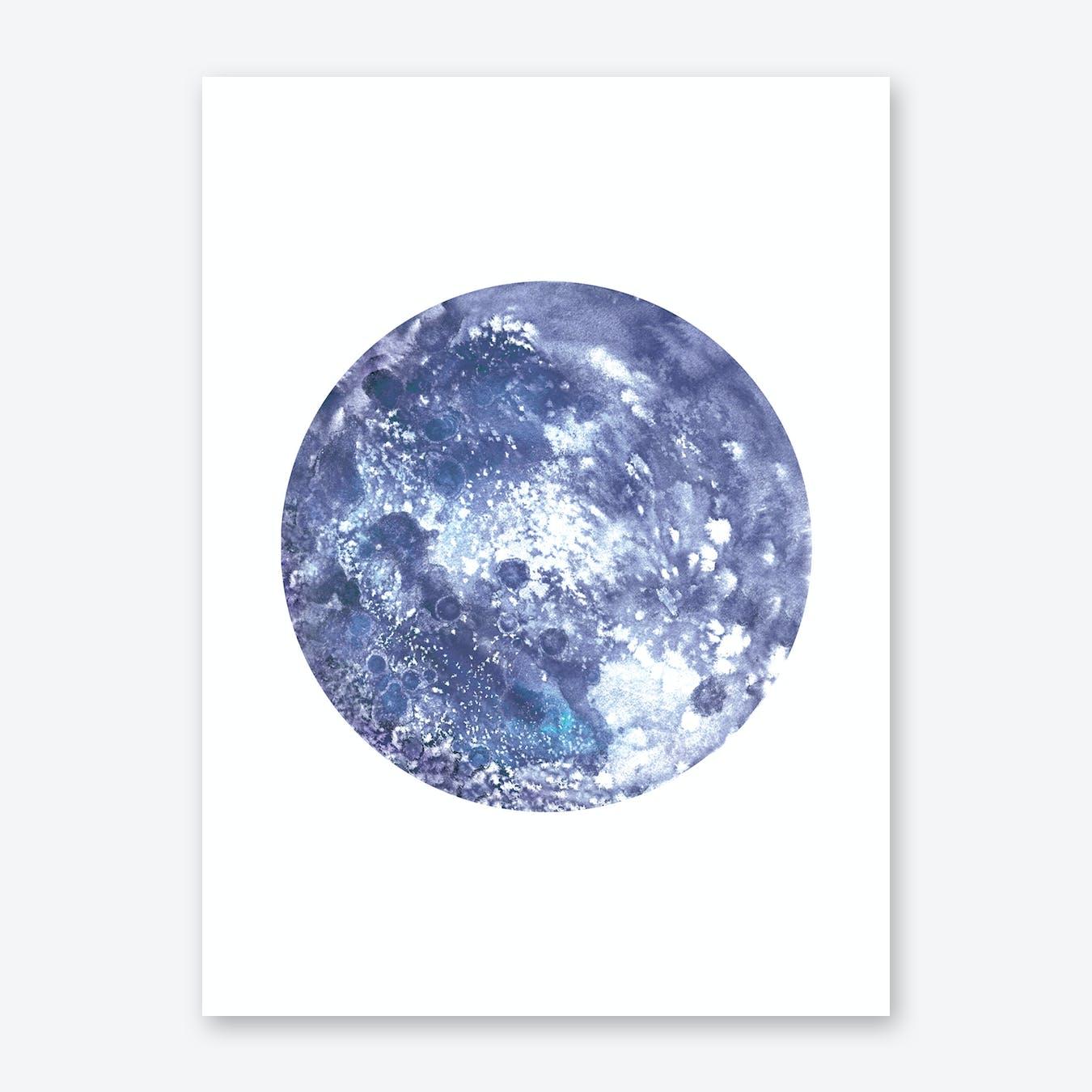 Earth  Print