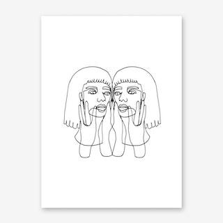 Jada Art Print