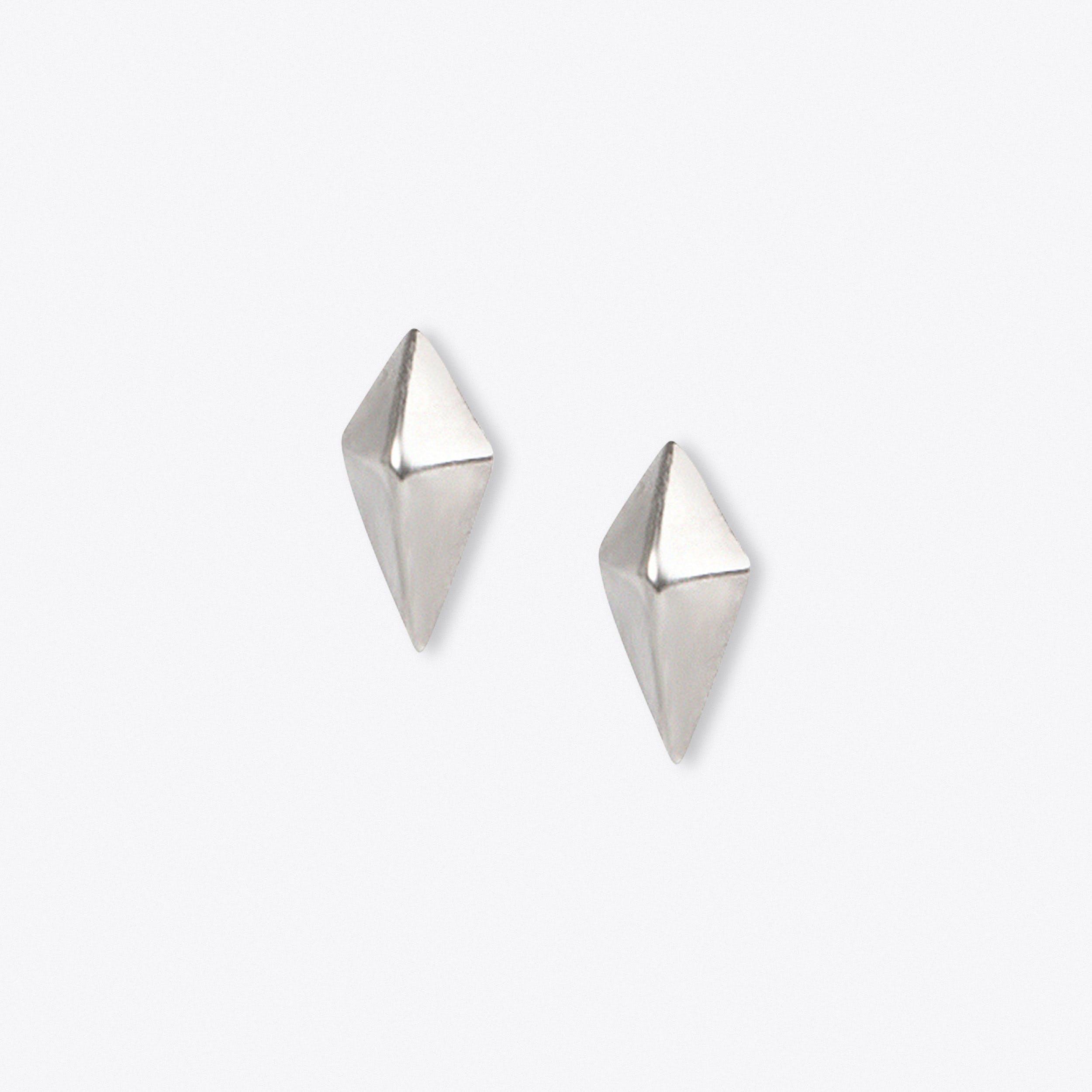 Kite Studs in Silver