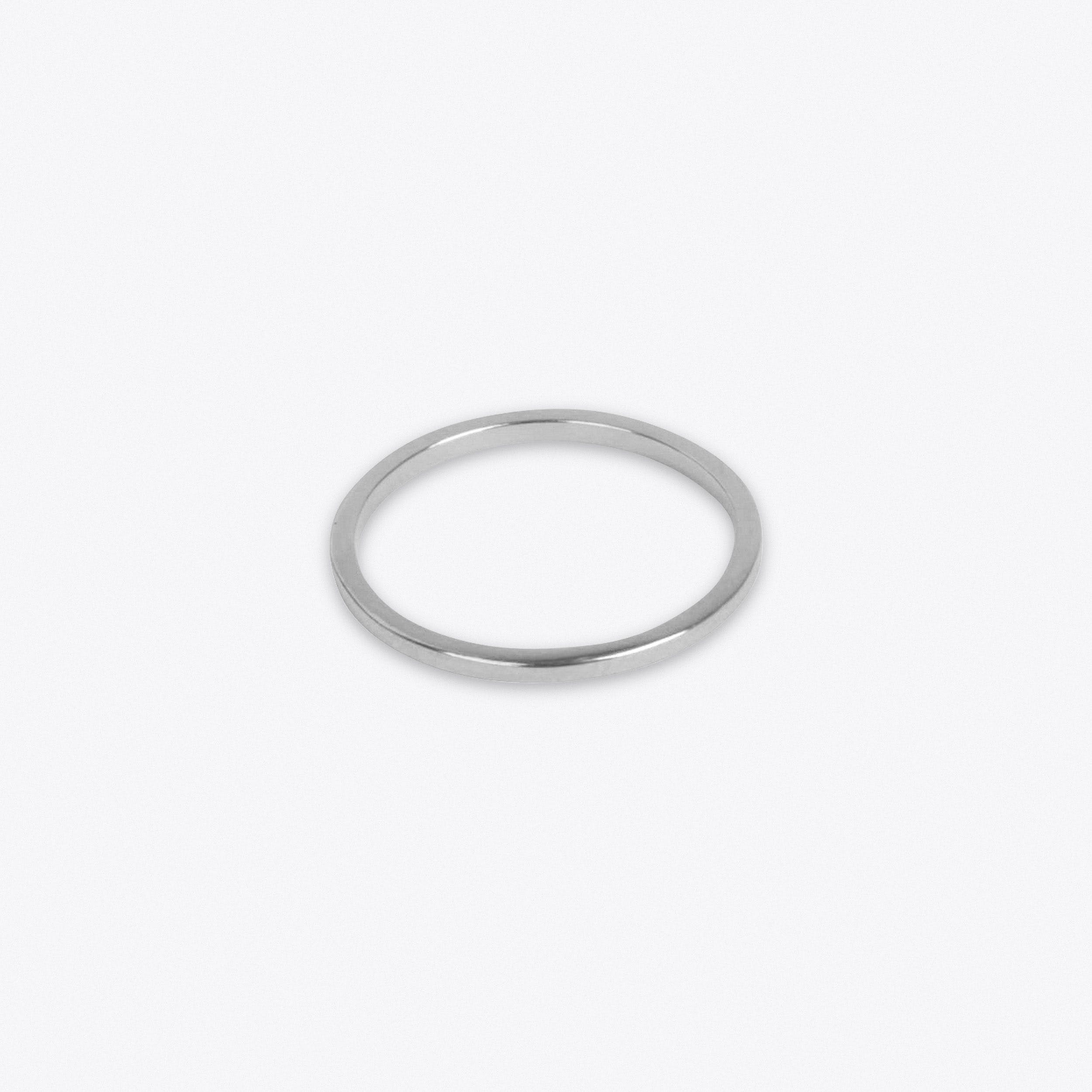 Lightweight Ring in Silver