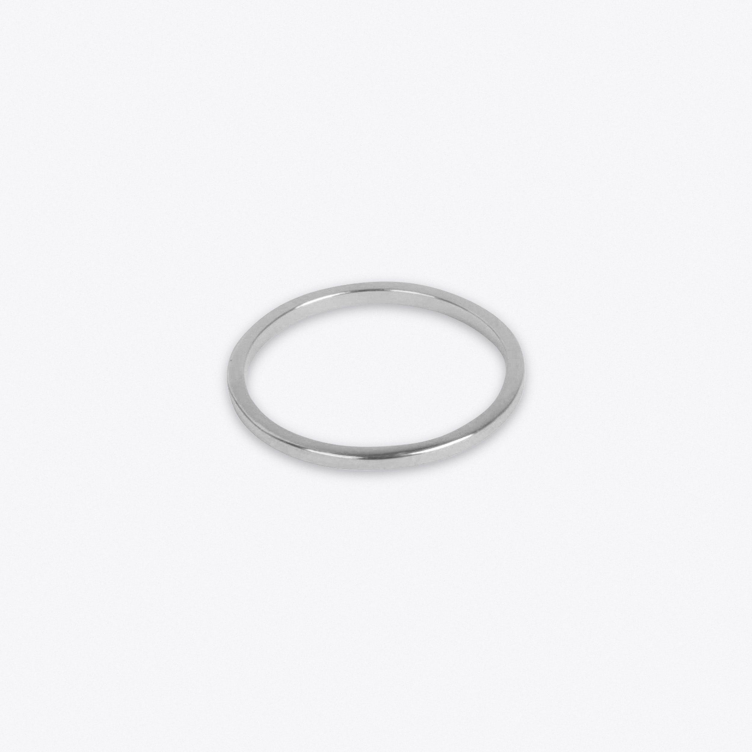 Lightweight Ring in Silver