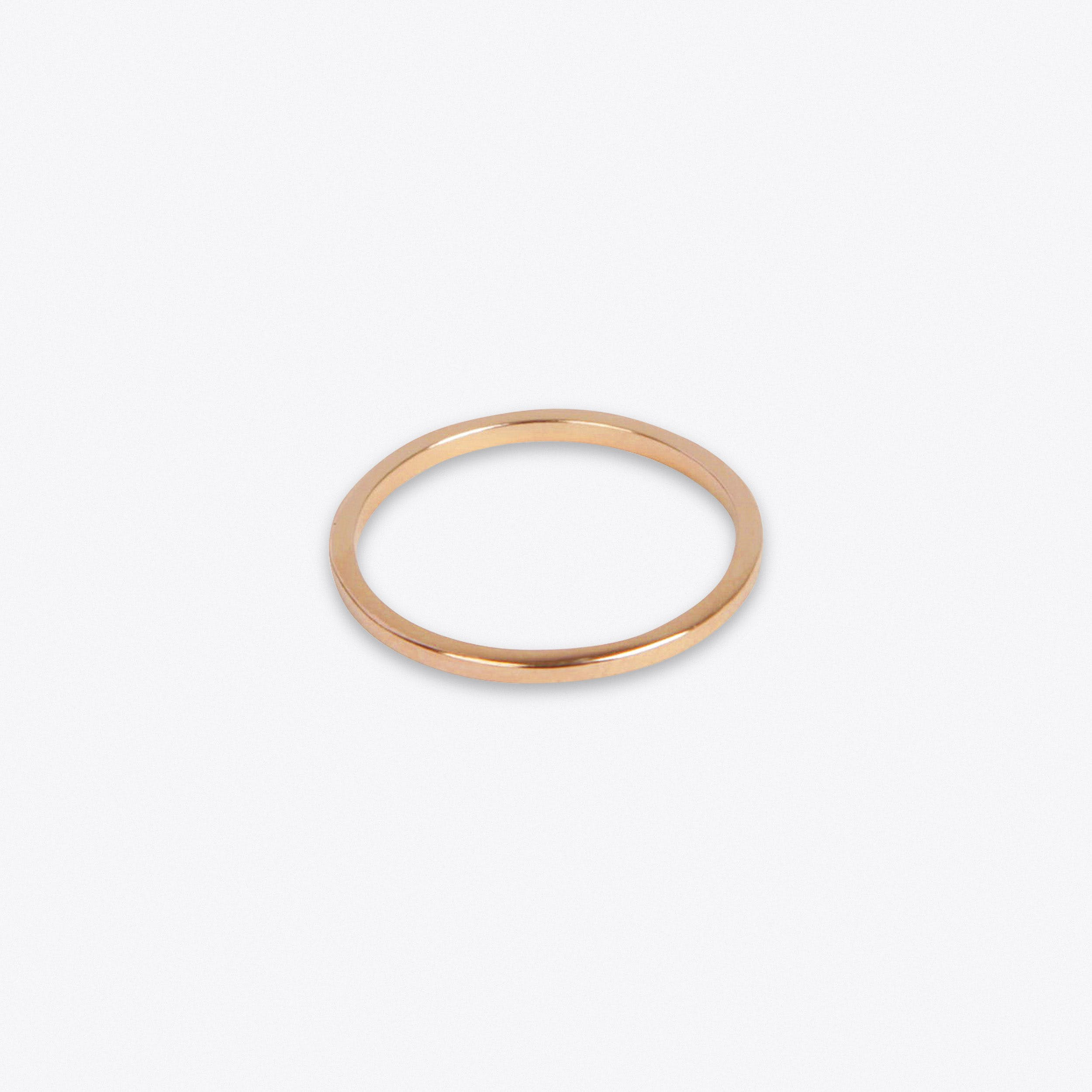 Lightweight Ring in Rose Gold
