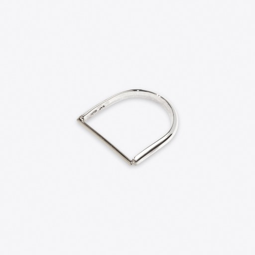 Machinist Ring in Silver