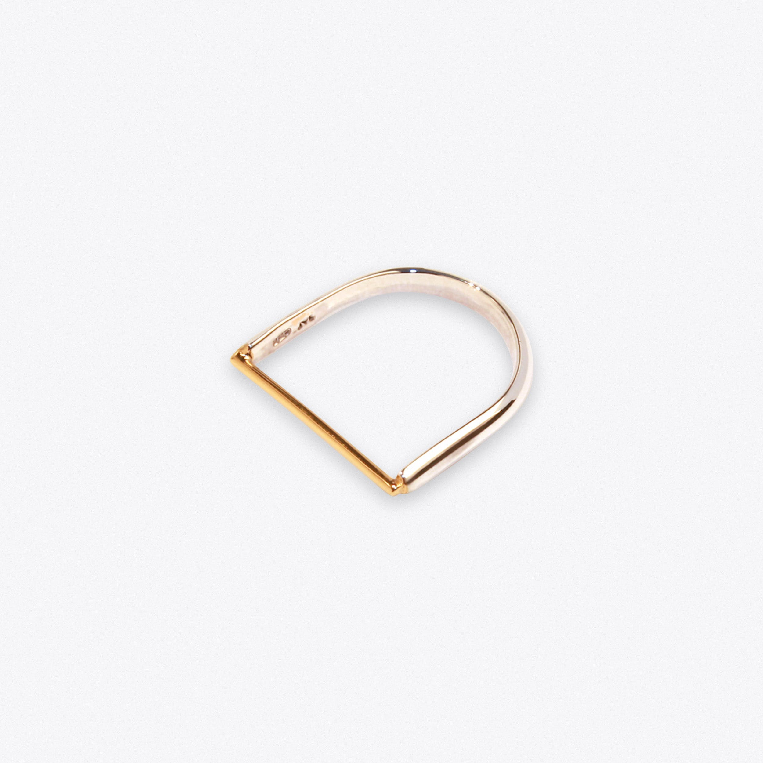Machinist Ring in Gold