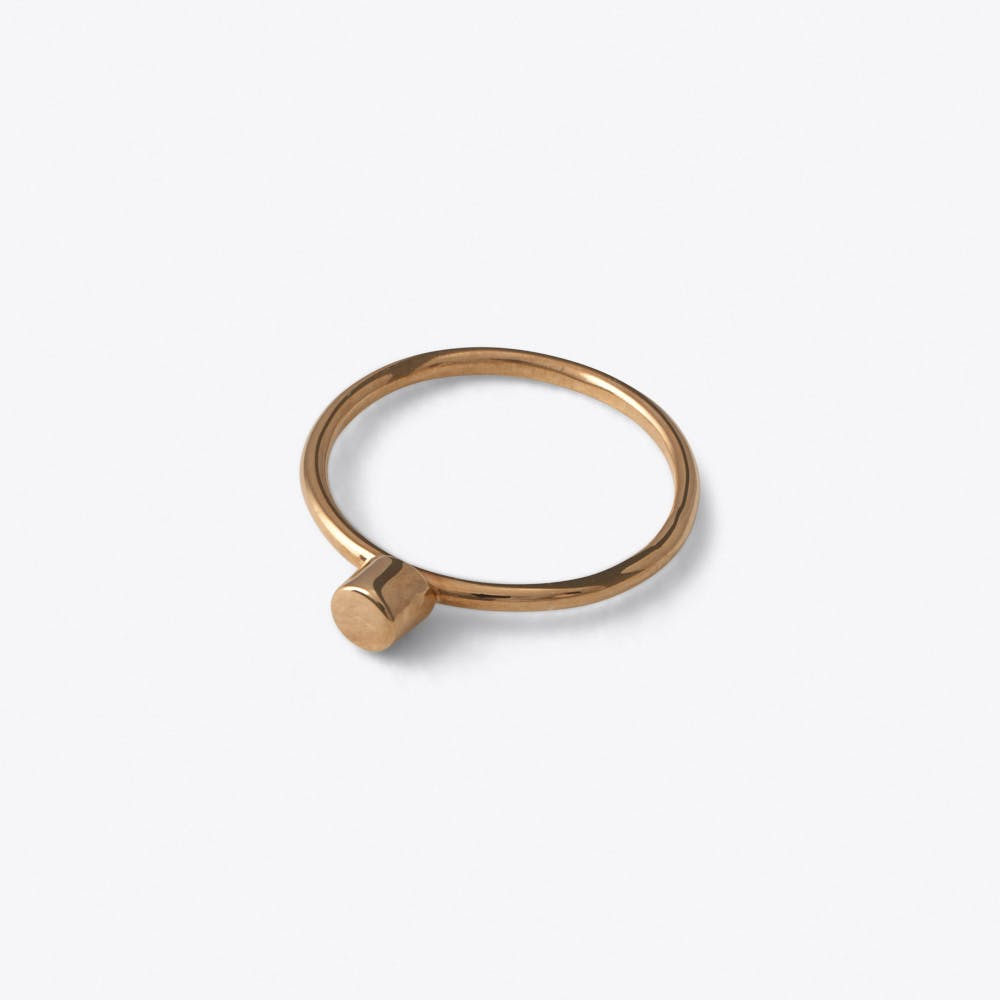 Dot Ring in Rose Gold