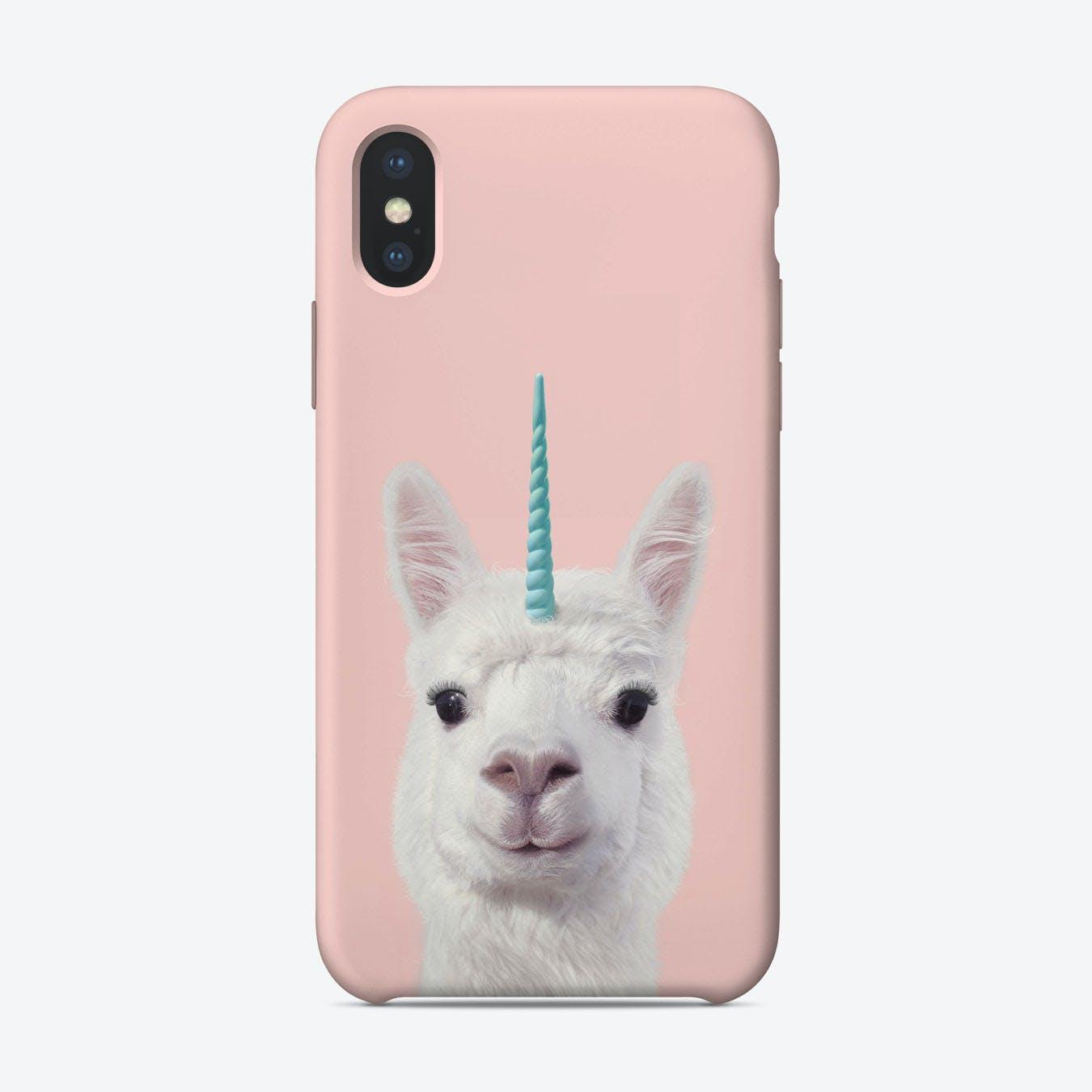 Alpaca Unicorn iPhone Case