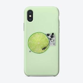 Lemon DJ iPhone Case