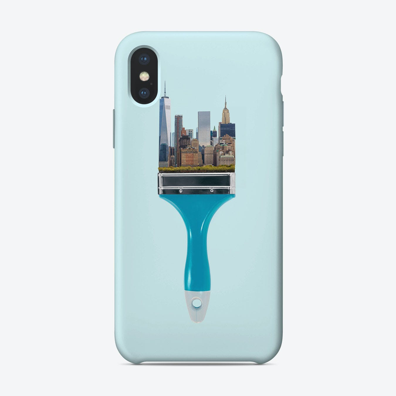 New York City Brush iPhone Case