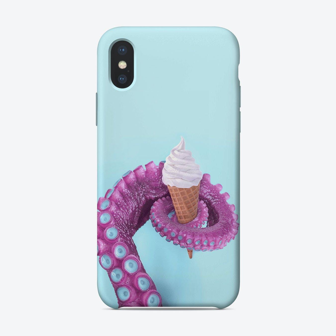 Octopus Icecream iPhone Case