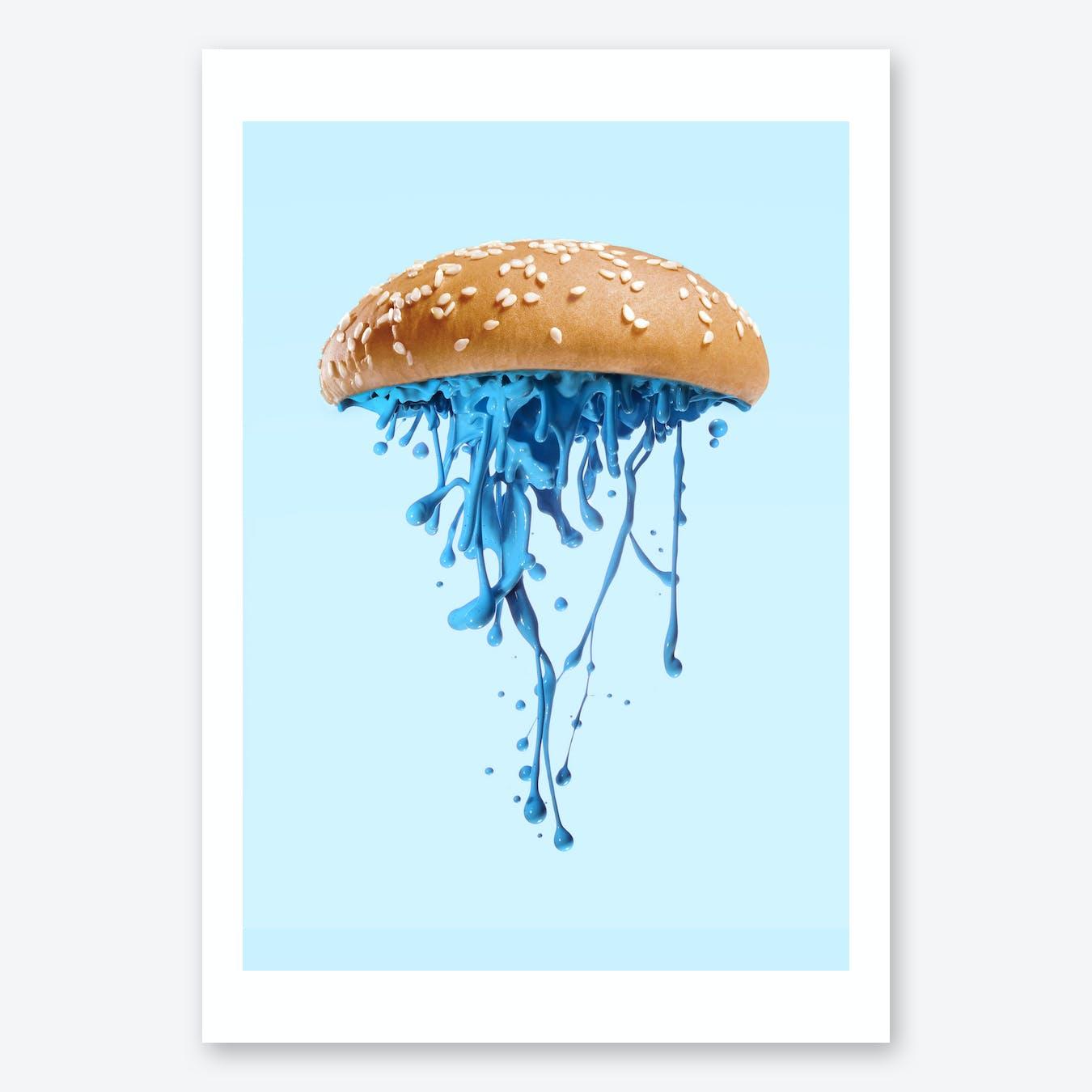 Jellyburger Print