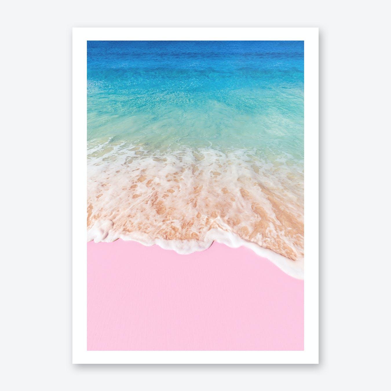 Pink Sand Print