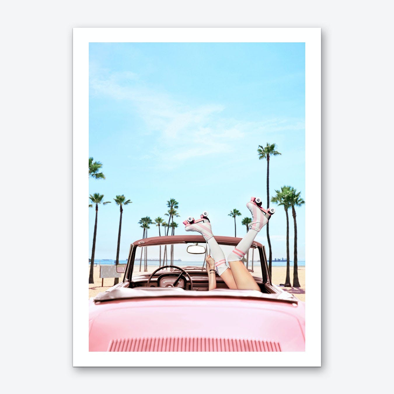 Long Beach Art Print