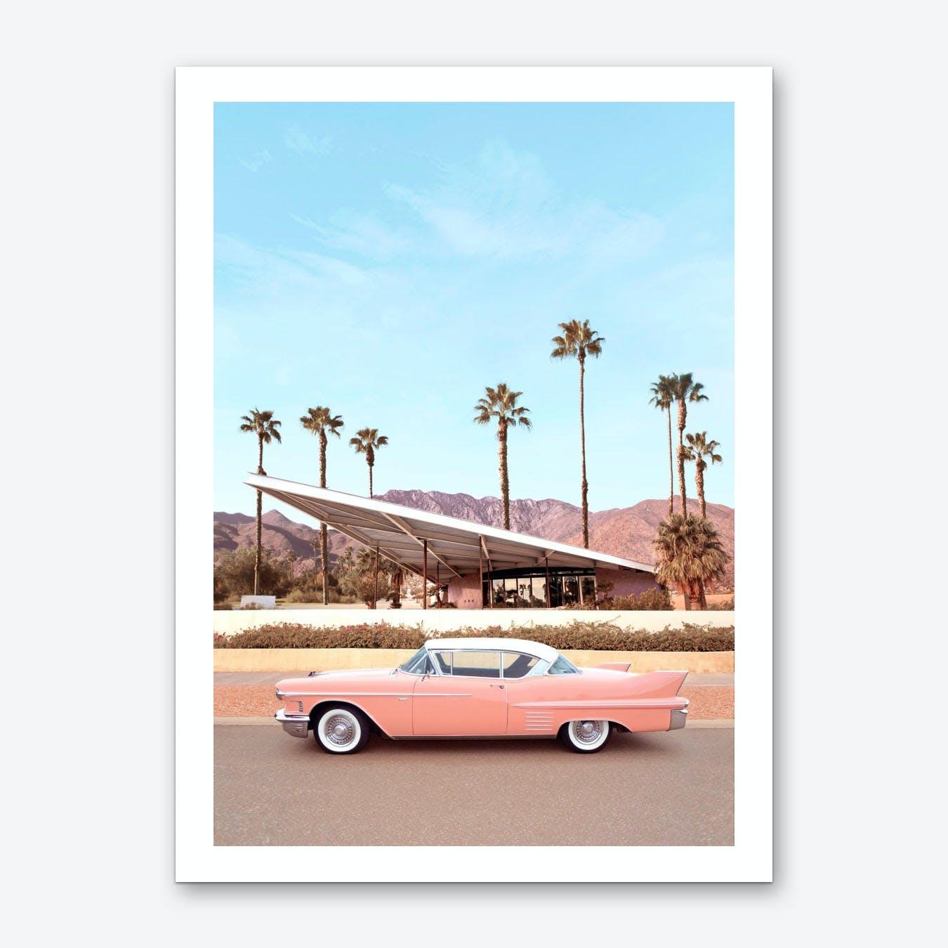 Palm Springs Car Art Print