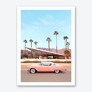 Palm Springs Car Art Print