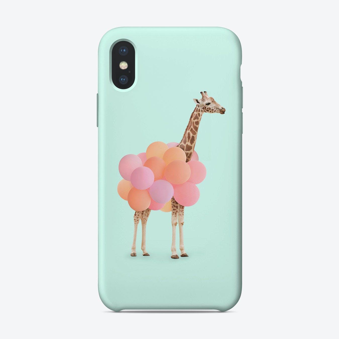 Party Giraffe iPhone Case