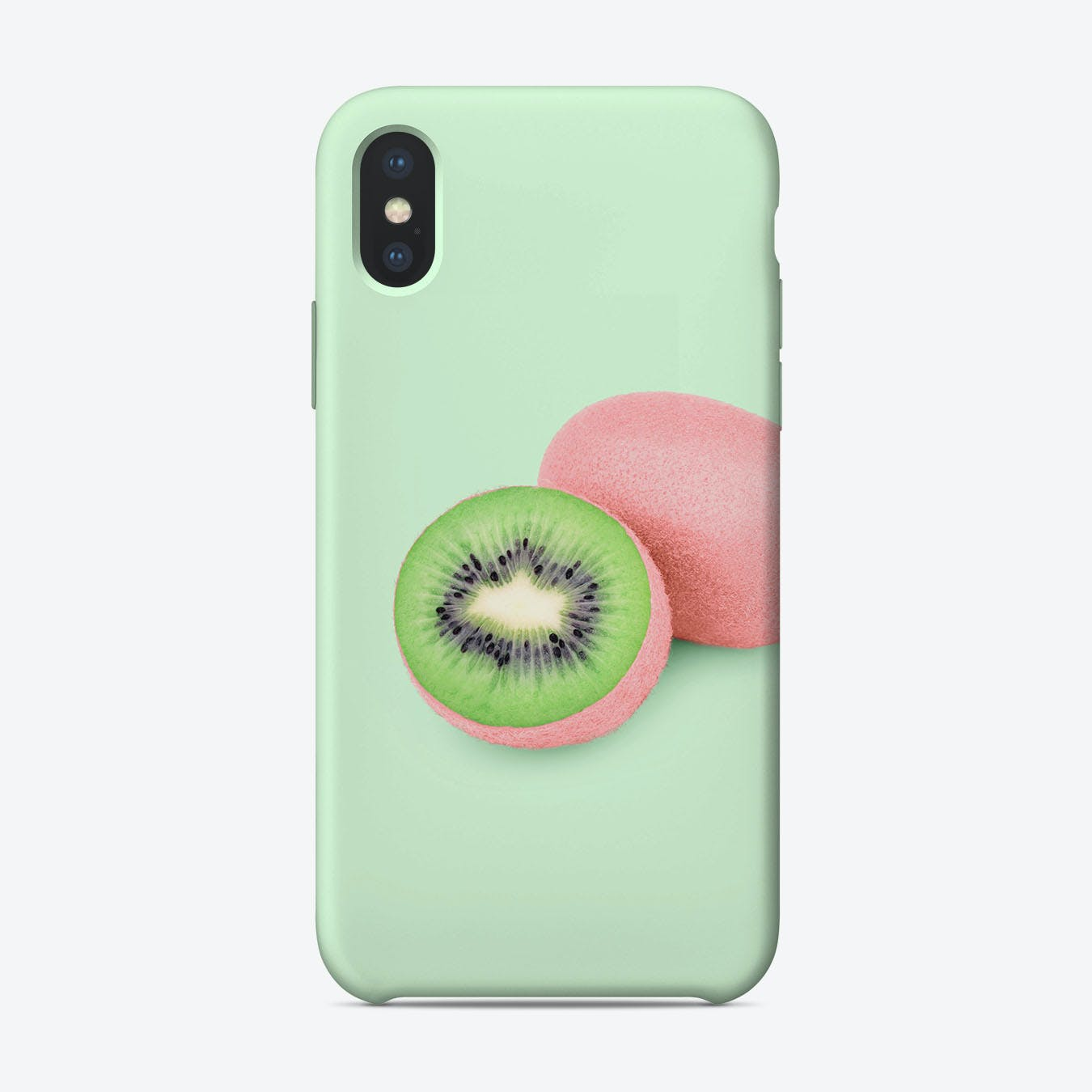 Pink Kiwi iPhone Case