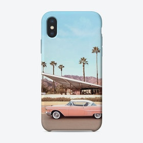 Palm Springs Car iPhone Case