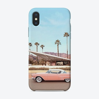 Palm Springs Car iPhone Case