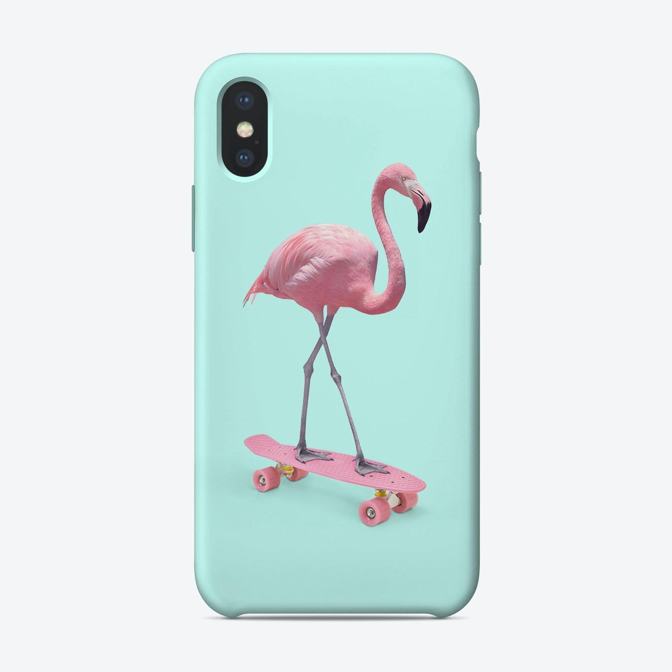 official photos 780c6 8fd83 Skate Flamingo iPhone Case